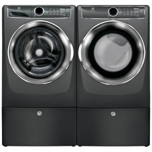 ElectroluxFront Load Laundry Pair w/ Pedestals